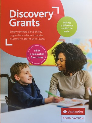 Santander Foundation Grant: Support We Can Bank On