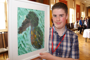 Top spot for young artists' exhibition