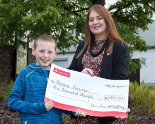 Ruby Wedding Results in Grand Gesture for Charity