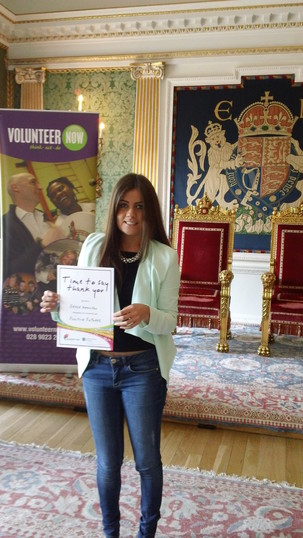 Five Minutes with Grace Hamilton, Volunteer