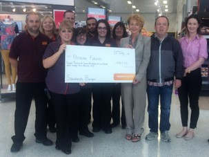 Charity Bags Just Short of £10,000 In Supermarket Support