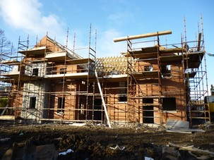 Day 122 of the project build at Wheatfield Gardens